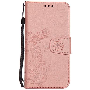 Hülle Für Samsung Galaxy S8 Plus S8 Kreditkartenfächer Geldbeutel Flipbare Hülle Geprägt Muster Handyhülle für das ganze Handy