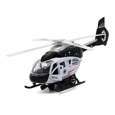 Spielzeuge Modellbausätze Helikopter Spielzeuge Simulation Flugzeug Helikopter Metalllegierung Metal Stücke Unisex Geschenk