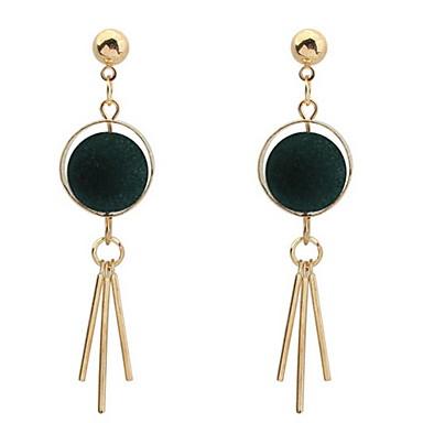 Damen Ohrstecker Tropfen-Ohrringe Kreolen Schmuck Personalisiert Religiöser Schmuck Luxus Einzigartiges Design Logo Stil Quaste Klassisch