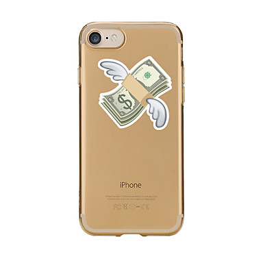 من أجل أغط / كفرات شفاف نموذج غطاء خلفي غطاء كارتون ناعم TPU إلى Appleفون 7 زائد فون 7 iPhone 6s Plus iPhone 6 Plus iPhone 6s أيفون 6