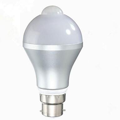 5W 480lm E26 / E27 B22 مصابيح صغيرة LED G60 10 الخرز LED SMD 5630 الأشعة تحت الحمراء الاستشعار التحكم في الإضاءة جسم الإنسان الاستشعار