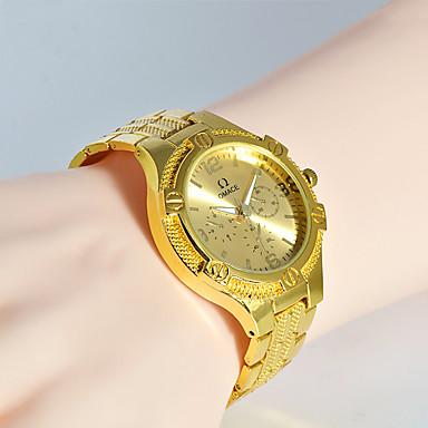 Bărbați Ceas La Modă Ceas de Mână Unic Creative ceas Ceas Casual Quartz Oțel inoxidabil Bandă Charm Cool Casual Creative Luxos Elegant