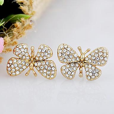 Pentru femei Cercei Bijuterii La modă Personalizat Euramerican Ștras Aliaj Bijuterii Bijuterii Pentru Nuntă Petrecere 1 Pair