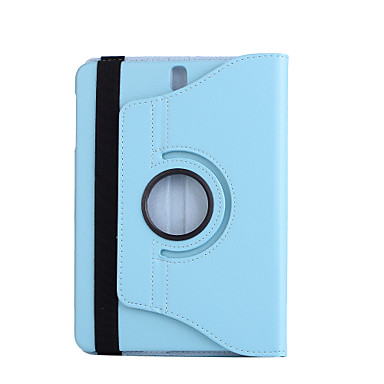 Für Fallabdeckung mit Standplatz 360 Umdrehung Ganzkörperkasten Normallack hartes PU-Leder für Samsung-Lasche s3 9.7 t825 / t820