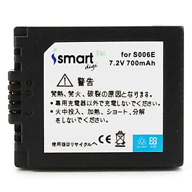 Ismartdigi s006 7.2v 700mA camera pentru baterii pentru panasonic dmw-bma7 dmc-fz7 fz8 fz35 fz50 gk