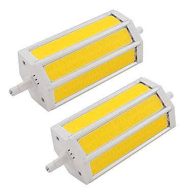 9W 200 lm LED-spotlampen TL 3 leds COB Warm wit Koel wit AC85-265 AC 85-265V