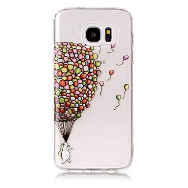 Maska Pentru Samsung Galaxy S8 Plus S8 Transparent Embosat Model Carcasă Spate Balon Moale TPU pentru S8 S8 Plus S7 edge S7