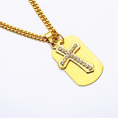 للرجال قلائد الحلي  -  تصميم فريد قديم ذهبي قلادة من أجل حزب مناسبة خاصة خطوبة