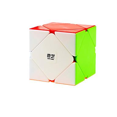 مكعب روبيك Skewb مكعب سكيوب السلس مكعب سرعة مكعبات سحرية لغز مكعب ملصقات مصقولة البلاستيك مربع هدية