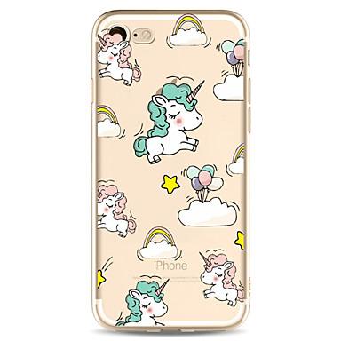 Pentru Apple iPhone 7 7 plus 6s 6 plus caz acoperă model de desene animate pictat de înaltă penetrare tpu material caz caz caz moale