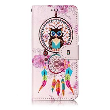Maska Pentru Samsung Galaxy S8 Plus S8 Titluar Card Portofel Cu Stand Întoarce Magnetic Model Carcasă Telefon Prinzător de vise Bufniţă