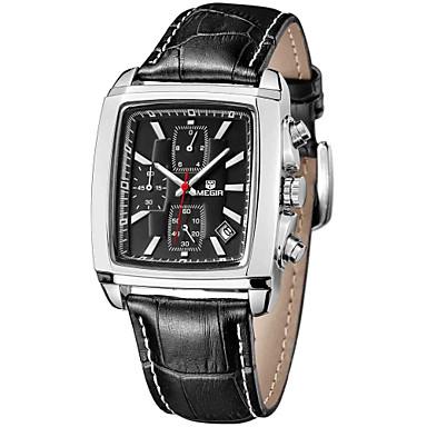 Bărbați Ceas de Mână Ceas Elegant  Ceas La Modă Chineză Quartz Piele Autentică Bandă Charm Elegant Cool Multicolor