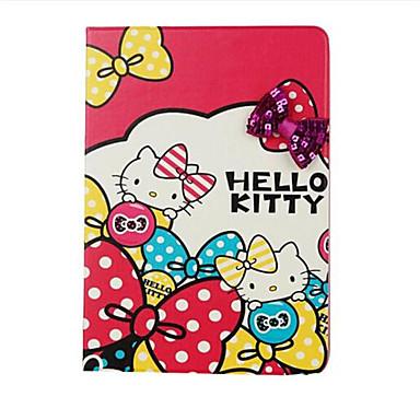 Hülle Für Apple Kreditkartenfächer mit Halterung Flipbare Hülle Muster Handyhülle für das ganze Handy Cartoon Design Hart Kunst-Leder für