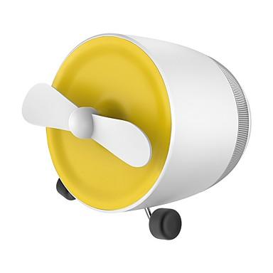 مصغرة بلوتوث الصوت شحن مروحة صغيرة المحمولة