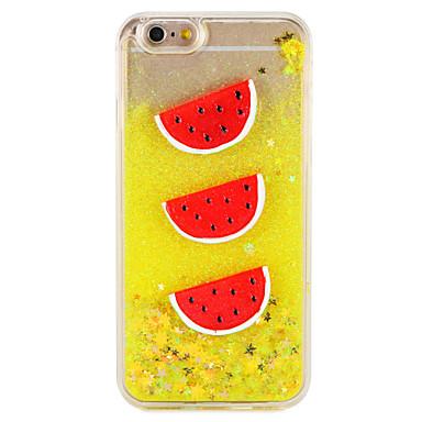 Caz pentru Apple iPhone 7 7 plus flux lichid model de fructe sclipici strălucire greu pc 6s plus 6 plus 6s 6