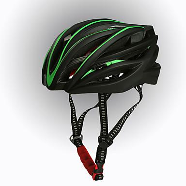 للأطفال خوذة دراجة N/A(أمريكا الشمالية) المخارج ركوب الدراجة قياس قابل للتعديل خفيف جدا (UL) رياضات EPS دراجة الطريق دراجة الترفيه أخضر /