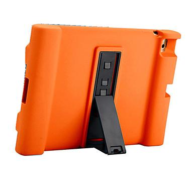 Pentru Apple ipad 4/3/2 caz acoperă rezistent la șoc cu suport de corp plin corp corp solid silicon moale