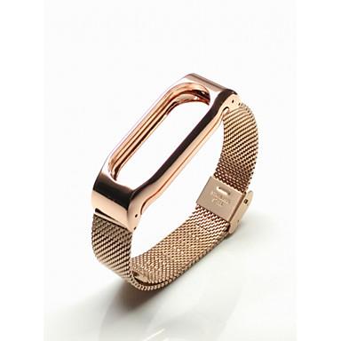 Horlogeband voor Mi Band 2 Xiaomi Sportband Roestvrij staal Polsband