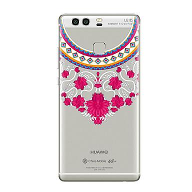 Hülle Für Huawei P9 Huawei P9 Lite Huawei P8 Huawei Huawei P9 plus Huawei P8 Lite Huawei Kamerad 8 Transparent Muster Rückseite Lace