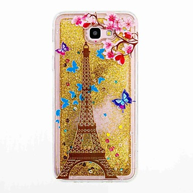 7c058d03c9e Case For Samsung Galaxy J7 Prime / J5 Prime Flowing Liquid / Pattern Back  Cover Eiffel Tower Soft TPU for J7 Prime / J7 (2016) / J5 Prime #05874771