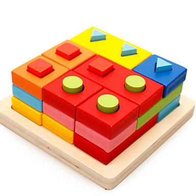 Bouwblokken Speeltjes Plezier Puinen Kinderen Stuks