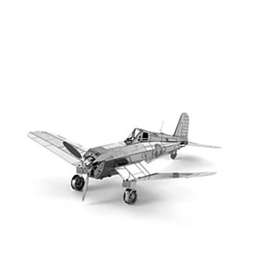 3D - Puzzle Flugzeug Kämpfer Spaß Edelstahl Klassisch