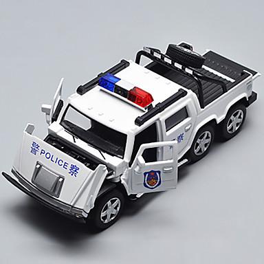 Speelgoedauto's Speeltjes Modelauto Politieauto Speeltjes Metaallegering Kromi Stuks Kinderen Geschenk