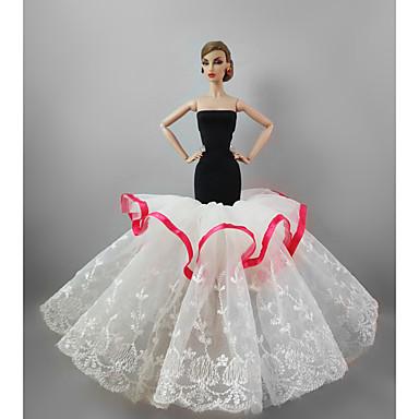 Feest/Avond Jurken Voor Barbiepop Voor voor meisjes Speelgoedpop