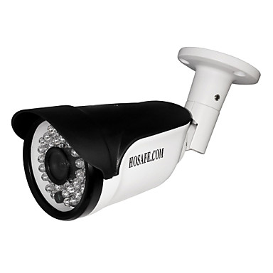 Hosafe® 2mb8p 2.0mp 1080p wasserdichte Outdoor-IP-Kamera mit poe / 36-ir-led / Bewegungserkennung