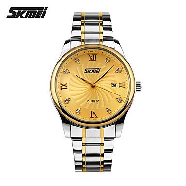 Herrn Quartz Armbanduhr Smartwatch Sportuhr Chinesisch Kalender Wasserdicht Großes Ziffernblatt Metall Band Charme Kreativ Einzigartige