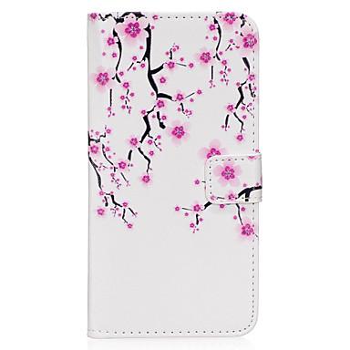 Hülle Für Samsung Galaxy S8 Plus S8 Kreditkartenfächer Geldbeutel mit Halterung Flipbare Hülle Magnetisch Muster Ganzkörper-Gehäuse Blume