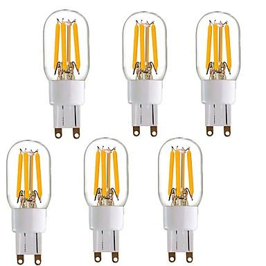 4W أضواء LED Bi Pin T 4 COB 350 lm أبيض دافئ V 1 شخص