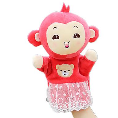 Fingerpuppe Marionetten Spielzeuge Affe Tier Niedlich Tiere lieblich Plüsch Kind Stücke