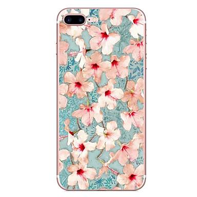 Pentru Apple iPhone 7 7 plus 6s 6 plus caz acoperă floare model hd pictat tpu material caz caz caz moale