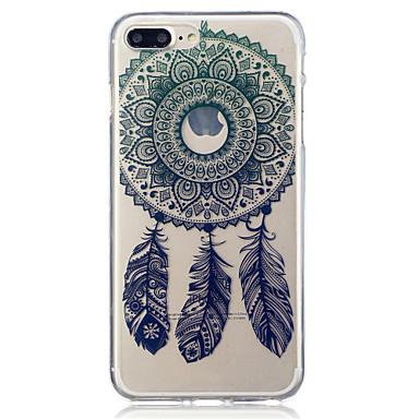 Voor apple iphone 7 7 plus 6s 6 plus se 5s 5 wind chimes patroon geschilderd hoge penetratie tpu materiaal imd proces soft case telefoon