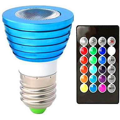 3W 120 lm حديث 1 الأضواء طاقة عالية LED RGB AC85-265 أس 85-265V