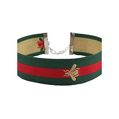 Damen Biene Modisch Euramerican Halsketten Stoff Halsketten . Party