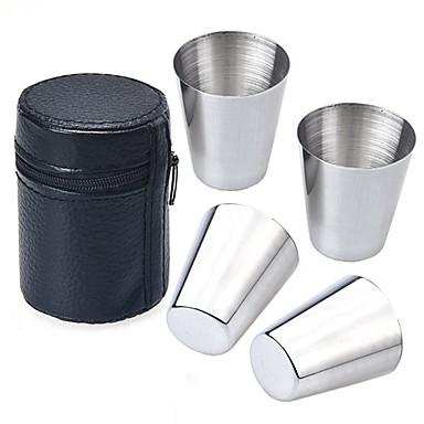 Imitatieleer Roestvast staal Dagelijks drinkgerei Noviteit drinkgerei Theekoppen Koffiebekers Reisbekers Deksels voor bekers