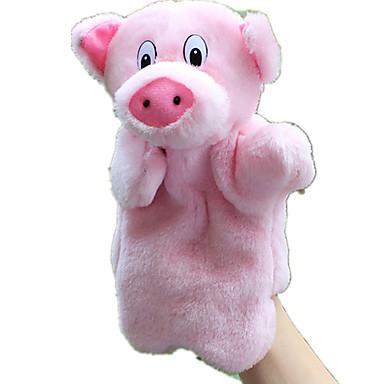 محشوة لعب لعبة للأصبع دمى عرائس ألعاب خنزير حيوان جذاب الحيوانات محبوب تاكتيل قطيفة للأطفال قطع