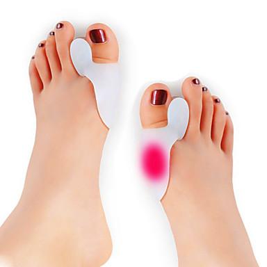 للسفر القدم الرجال والنساء وتدعم فواصل أصابع القدم ضغط الهواء تدليك مصحح الوضعية تخفيف الألم القدم دعم تدليك دعم العضلات الدعم المشترك