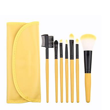 Brush Sets Blushkwast Oogschaduwkwast Eyelinerkwast Wimperkwast Verfkwast Poederkwast Aanbrengspons Synthetisch haar Gezicht Oog Lip