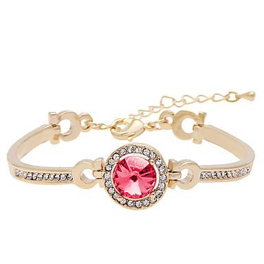 Dames Cuff armbanden Sieraden Vintage Natuur Modieus Met de Hand Gemaakt Kristal Legering Ronde vorm Sieraden Voor Bruiloft Feest