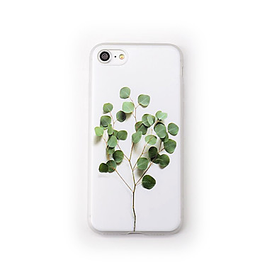 Maska Pentru Apple iPhone 7 Plus iPhone 7 Mătuit Model Capac Spate Floare Copac Moale TPU pentru iPhone 7 Plus iPhone 7 iPhone 6s Plus