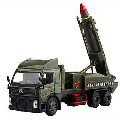 Spielzeug-Autos Aufziehbare Fahrzeuge Lastwagen Militärfahrzeuge Spielzeuge Schleppe LKW Metalllegierung Metal Chinesischer Stil Stücke
