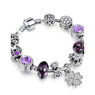 Dames Strand Armbanden Vriendschap Modieus Stretch Doe-het-zelf Movie Jewelry Luxe Sieraden Kostuum juwelen Legering Cirkelvorm Ronde