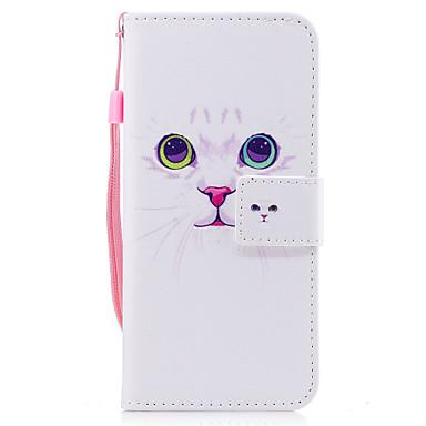 Maska Pentru Samsung Galaxy S8 Plus S8 Portofel Titluar Card Cu Stand Întoarce Model Magnetic Corp Plin Pisica Greu PU Piele pentru S8 S8