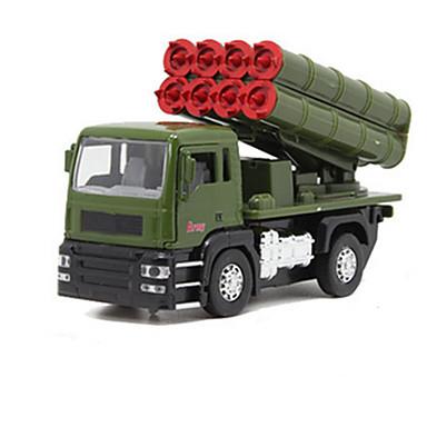 Jucării pentru mașini Jucarii Vehicul Militar Jucarii Altele Rezervor Car de Război Aliaj Metalic Bucăți Unisex Cadou