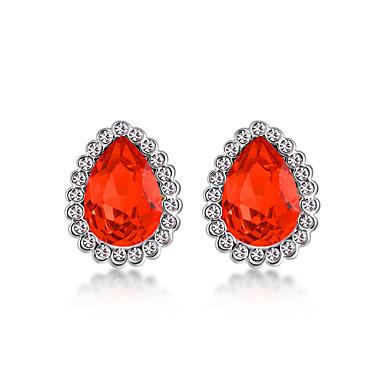 Pentru femei Cercei Bijuterii La modă Personalizat Euramerican Cristal Aliaj Bijuterii Bijuterii Pentru Nuntă Petrecere 1 Pair