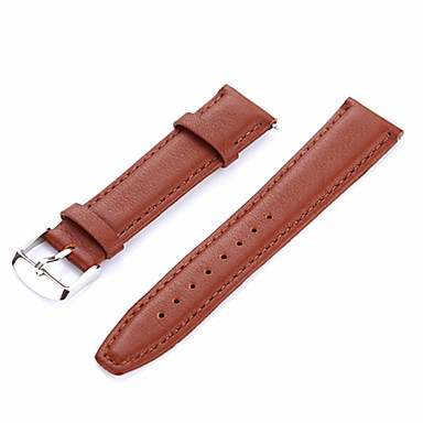 Недорогие Ремешки для часов Huawei-Ремешок для часов для Huawei Watch 2 Huawei Современная застежка Натуральная кожа Повязка на запястье