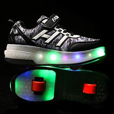 Kinderen Skateschoenen blauw/Zwart/Paars